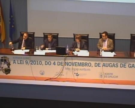 Mesa redonda. - Xornada sobre a Lei 9/2010, do 4 de novembro, de Augas de Galicia